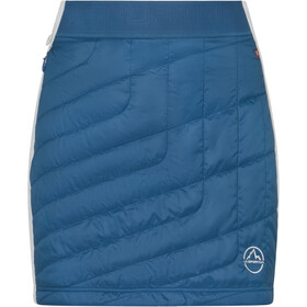 La Sportiva Warm Up Primaloft Gonna Donna, blu/bianco